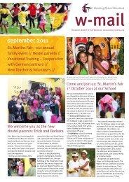 september 2011 - Waldorf School Windhoek