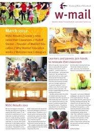 March 2012 - Waldorf School Windhoek