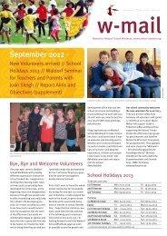 September 2012 - Waldorf School Windhoek