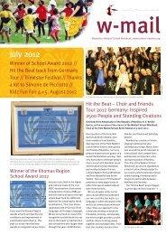 July 2012 - Waldorf School Windhoek