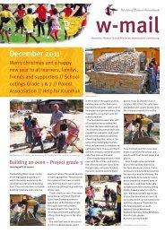 December 2011 - Waldorf School Windhoek