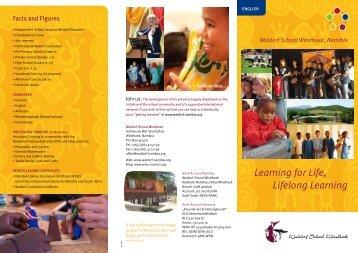 Learning for Life, Lifelong Learning - Waldorf School Windhoek