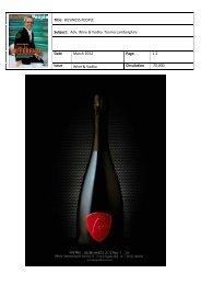 Title: BUSINESS PEOPLE Subject: Adv. Wine & Vodka Tonino ...