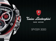SPYDER 3000 - Tonino Lamborghini