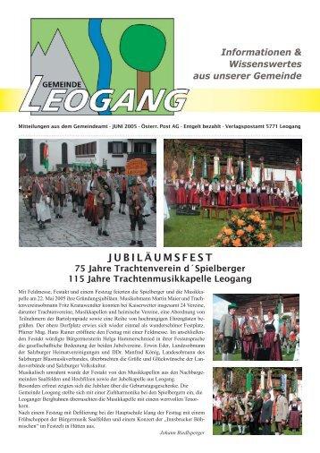 Gemeindezeitung 06-2005 - Gemeinde Leogang