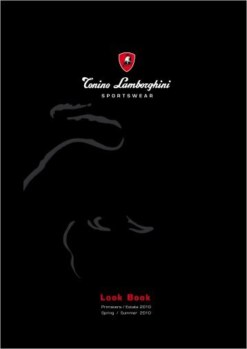 Look Book - Tonino Lamborghini
