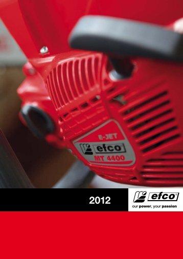 Produktkatalog 2012 - Efco