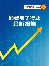 消费电子行业分析报告 - Made-in-China.com