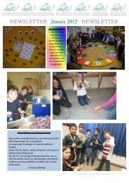 NEWSLETTER Jänner 2012 NEWSLETTER - Mary Ward Schulen