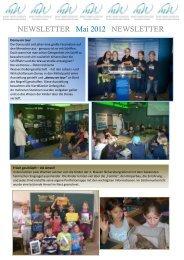 NEWSLETTER Mai 2012 NEWSLETTER - Mary Ward Schulen