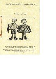Balje / Kindergartenkonzeption