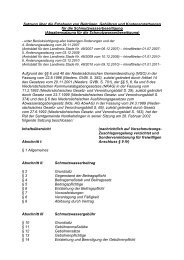 Samtgemeinde / Schmutzwasserbeseitigungssatzung