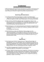 Geschäftsordnung des Rates der Gemeinde Krummendeich ...