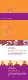 Kulturkalender 2014 Staufen