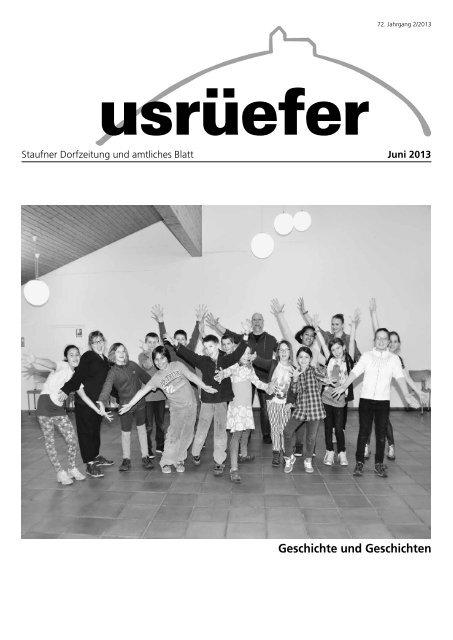 2. Ausgabe Juni [PDF, 5.24 MB] - Staufen