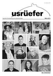 1. Ausgabe März [PDF, 5.46 MB] - Staufen