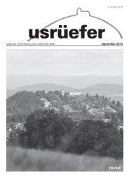 3. Ausgabe September [PDF, 4.59 MB] - Staufen