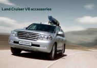 Land Cruiser V8 accessories - Toyota