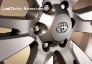 Land Cruiser Accessories - Toyota
