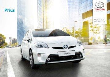 Toyota Prius 2012 E-Broschüre