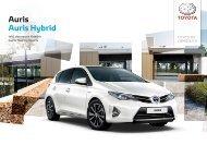 Toyota Auris E-Broschüre