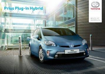 Prius Plug-in Hybrid 2013 E-Broschüre - Toyota