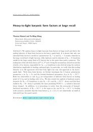 Heavy-to-light baryonic form factors at large recoil - Theoretische ...