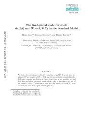 arXiv:hep-ph/0403085 v1 8 Mar 2004 - Theoretische Physik 1 ...