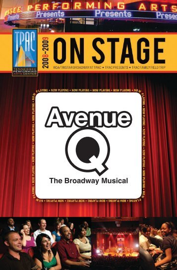 Avenue Q - Tennessee Performing Arts Center