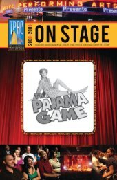 The Pajama Game - Tennessee Performing Arts Center