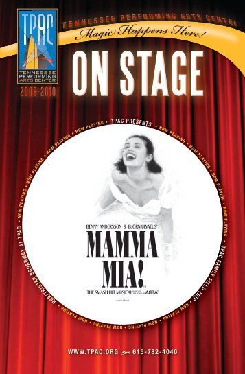 Mamma Mia! - Tennessee Performing Arts Center