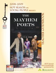 MAYHEM POETS - Tennessee Performing Arts Center