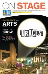 Traces | February 19-24, 2013 - Tennessee Performing Arts Center