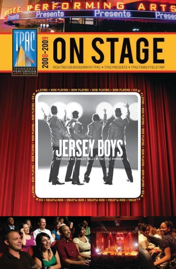 Jersey Boys - Tennessee Performing Arts Center