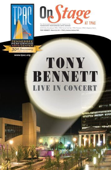 Tony Bennett - Tennessee Performing Arts Center