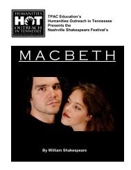 Macbeth - Tennessee Performing Arts Center