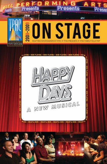 Happy Days – A New Musical - Tennessee Performing Arts Center