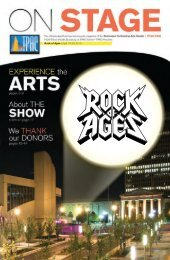Rock of Ages | April 19-20, 2013 - Tennessee Performing Arts Center