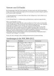 Vorwort von Uli Finckh - Deutscher Segler-Verband