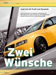 Audi A4 mit Kraft und Dynamik - Eton GmbH