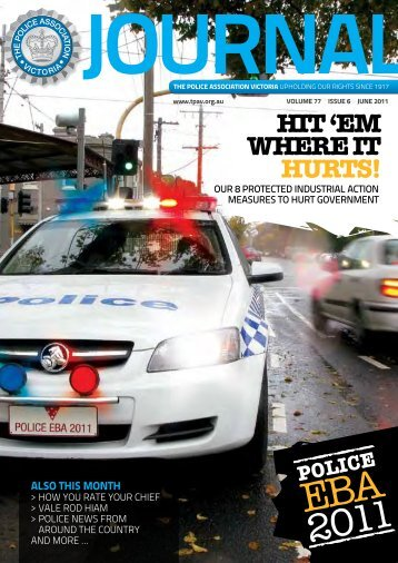 June edition - The Police Association Victoria