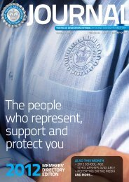 January 2012 - The Police Association Victoria