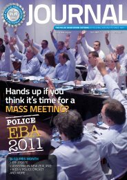 April edition - The Police Association Victoria