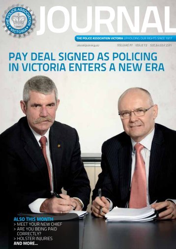 December edition - The Police Association Victoria