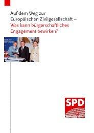 Auf dem Weg zur Europäischen Zivilgesellschaft ... - Bernhard Zepter