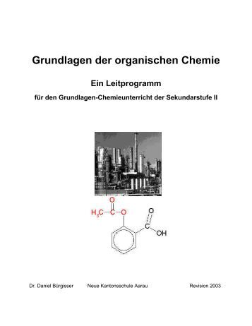 organische chemie ii. Black Bedroom Furniture Sets. Home Design Ideas