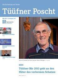 Tüüfner Poscht Ausgabe 02 / 2013