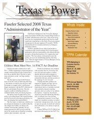 september 2008.pmd - Texas Public Power Association!