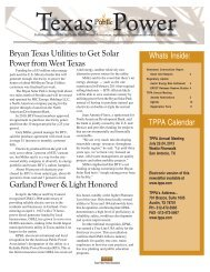 may 2013 issue.pmd - Texas Public Power Association!