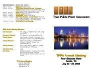 8:00 Am - Texas Public Power Association!